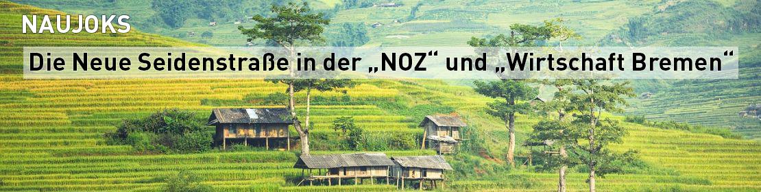 """NAUJOKS in der """"NOZ"""" und in """"Wirtschaft Bremen"""""""
